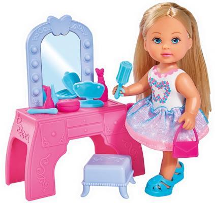 Кукла SIMBA Еви с туалетным столиком 12 см simba набор с куклой simba еви с туалетным столиком