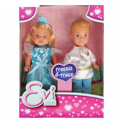 Набор кукол SIMBA Куклы Тимми и Еви - принц и принцесса 12 см набор кукол simba еви 2 шт с кроваткой 5733847