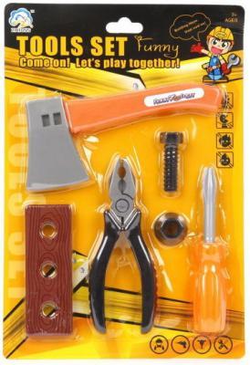Набор инструментов Наша Игрушка 928-1 6 предметов В ассортименте игрушка mehano 1 f101 набор рельс