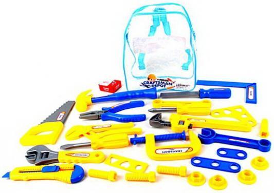 Купить Набор инструментов Наша Игрушка 27 предметов, для мальчика, Игровые наборы Юный мастер