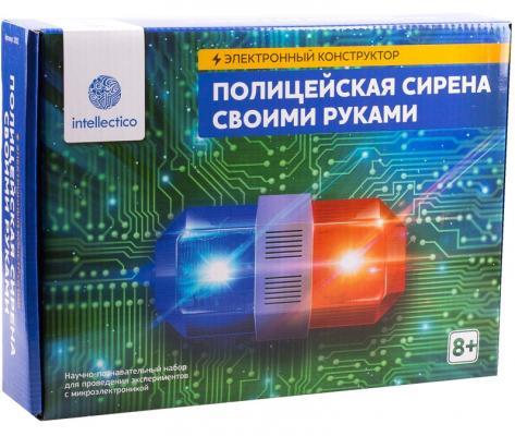 Электронный конструктор INTELLECTICO Полицейская сирена своими руками