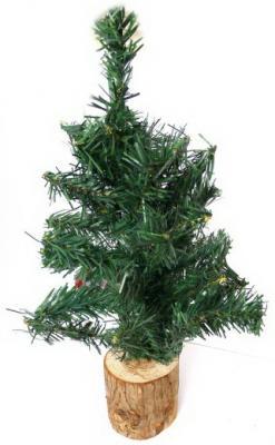 Купить Елочка на деревянной подставке 45 см., Новогодняя сказка, Искусственные ели и сосны