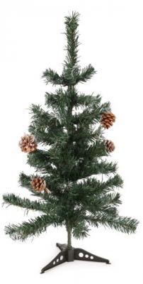 Ель Новогодняя сказка 973312 с шишками зеленый 60 см ель новогодняя crystal trees 1 2 м триумфальная с шишками kp8612