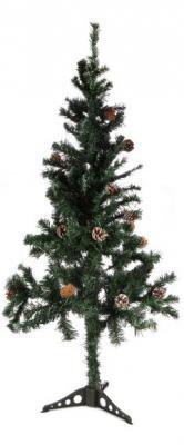 Ель Новогодняя сказка 973323 с шишками зеленый 120 см