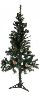 Ель Новогодняя сказка 973324 с шишками зеленый 150 см все цены
