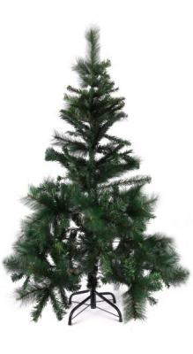 Сосна Новогодняя сказка 973331 пушистая зеленый 120 см