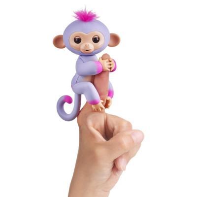 Интерактивная игрушка Fingerlings обезьянка Сидней от 5 лет пурпур c розовым игрушка интерактивная 31 век обезьянка f 003b р