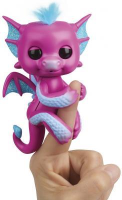 Интерактивная игрушка Fingerlings дракон Сенди от 5 лет в ассортименте