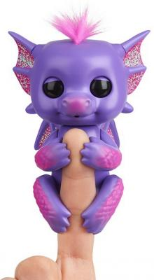 Интерактивная игрушка Fingerlings Дракон Калин от 5 лет розово-фиолетовый интерактивный дракон калин 12 см