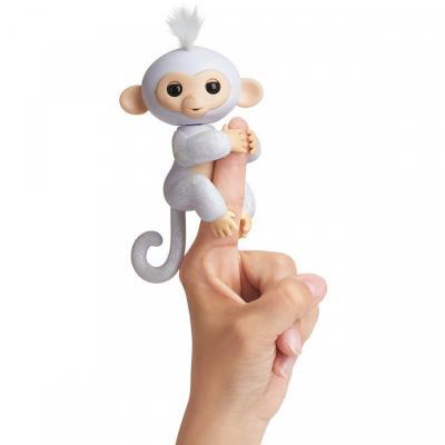 Интерактивная игрушка Fingerlings обезьянка ШУГАР от 5 лет белый fingerlings 3763m интерактивная обезьянка шугар белая 12 см