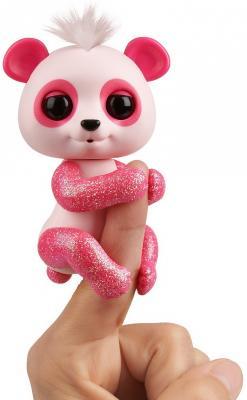 Интерактивная игрушка Fingerlings Панда Полли от 5 лет розовый