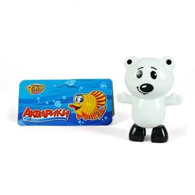 Заводная игрушка для ванны Наша Игрушка Медвежонок M7039 игрушка