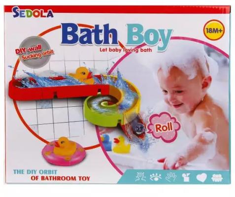 Интерактивная игрушка Наша Игрушка Водная горка от 18 месяцев интерактивная игрушка наша игрушка телефончик е нотка от 18 месяцев цвет в ассортименте 60081