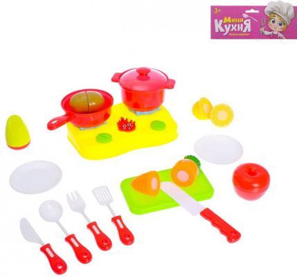 Набор посуды Наша Игрушка Учимся готовить пластик игрушка