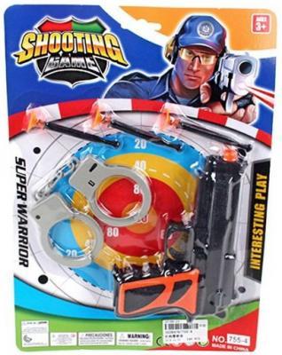 Игровой набор Наша Игрушка 755-4 игровой набор наша игрушка полиция a505 11