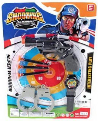 Игровой набор Наша Игрушка 755-1 игровой набор наша игрушка полиция a505 11