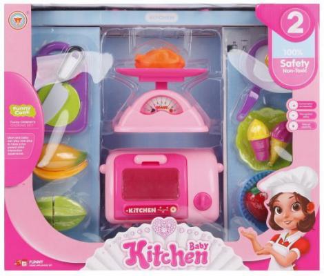 Игровой набор Наша Игрушка Набор детской бытовой техники со звуком и светом игрушка