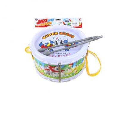 Купить Барабан Наша Игрушка Супер 118-37, в ассортименте, Детские музыкальные инструменты