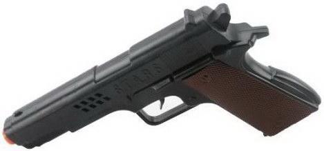 Пистолет Наша Игрушка S258-15 черный цена