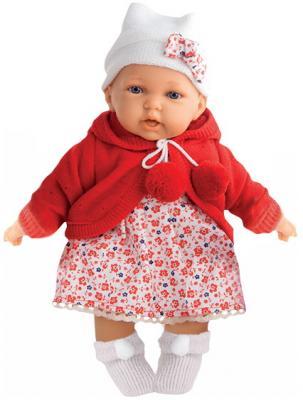 Кукла Азалия в красном, озвуч., 27 см