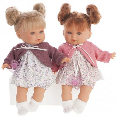 Кукла Munecas Antonio Juan Монси 30 см плачущая кукла antonio juan марти pink 1781p