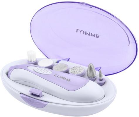 Маникюрно-педикюрный набор LUMME LU-2405 фиолетовый аметист маникюрно педикюрный набор scarlett sc ms95005