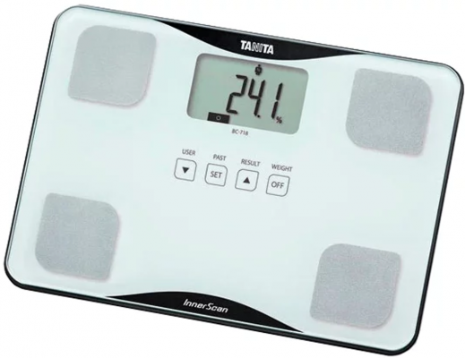 Весы напольные Tanita BC-718 белый цены онлайн