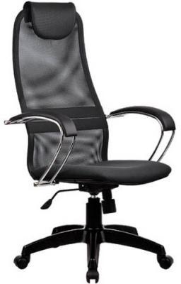 Кресло BK-8 PL № 21 сетка темно-серая дышащая