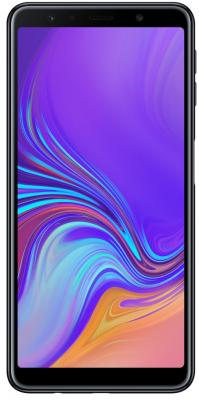 Смартфон Samsung Galaxy A7 2018 64 Гб черный (SM-A750FZKUSER) планшет samsung galaxy tab a sm t350 sm t350nzkaser
