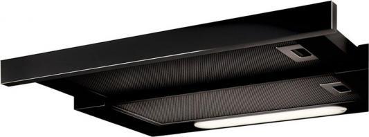 Встраиваемые вытяжки ELICA/ Тип встраиваемая, 60 см, 650 куб.м., кнопочное управление, серый+черное стекло