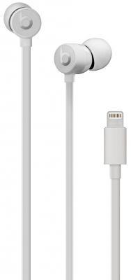 Гарнитура Apple urBeats3 серебристый MU9A2EE/A гарнитура