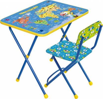 Купить Комплект стол+стул Ника Познайка 2 Познаю мир, НИКА, 750х155х610 см, Игровые комплекты мебели