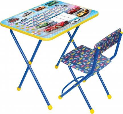 Купить Комплект стол+стул Ника Познайка 2 Большие гонки, НИКА, 750х155х610 см, Игровые комплекты мебели