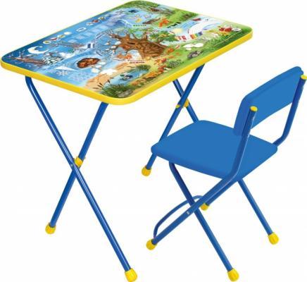 Купить Комплект стол+стул Ника Познайка 2 Хочу все знать, НИКА, 750х155х610 см, Игровые комплекты мебели