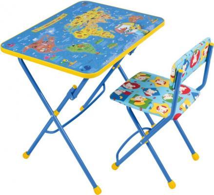 Комплект стол+стул Ника Умничка Познаю мир