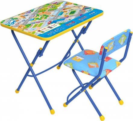 Комплект стол+стул Ника Умничка Правила дорожного движения