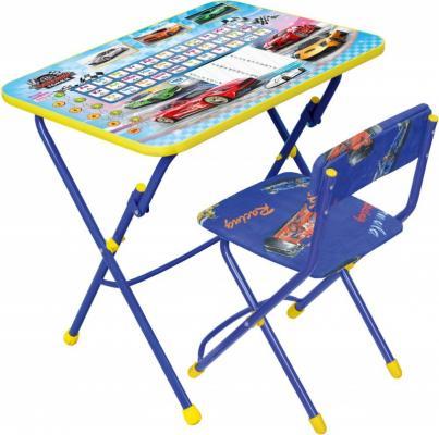 Комплект стол+стул Ника Умничка 1 Большие гонки ника 1041 0 1 61 ника