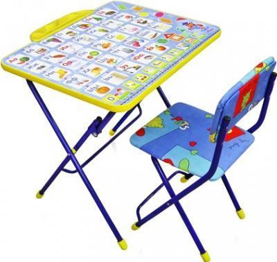 Комплект стол+стул Ника Умничка 2 Азбука цена