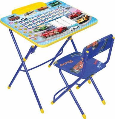 Купить Комплект стол+стул Ника Умничка 2 Большие гонки, НИКА, Игровые комплекты мебели