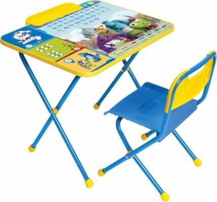 Купить Комплект стол+стул Ника Disney 2 Университет монстров, НИКА, Игровые комплекты мебели