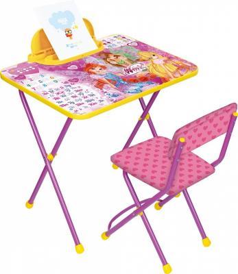 Комплект стол+стул Ника Winx 2 Азбука ника складной стол са1 алина ника бук