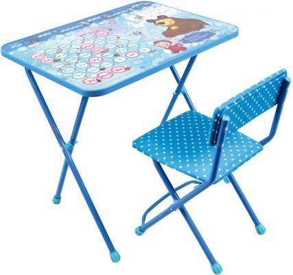 Комплект стол+стул Ника Познайка 2 Азбука 4 Маша и Медведь ника 0438 2 9 51