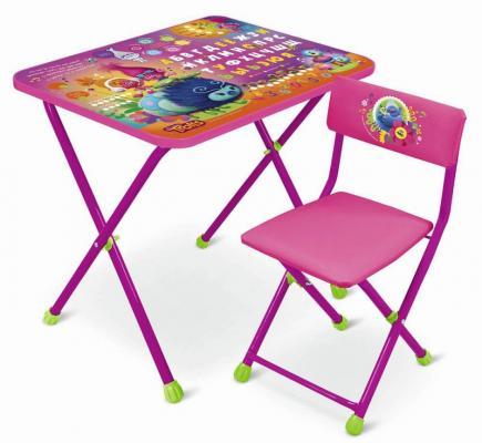 Комплект стол+стул Ника Trolls Тролли ника складной стол са1 алина ника бук
