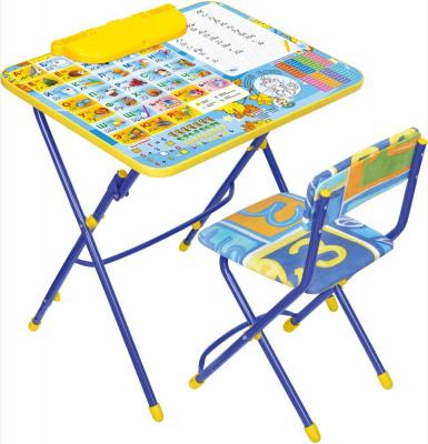 Комплект стол+стул Ника Умничка 3 Первоклашка осень цена