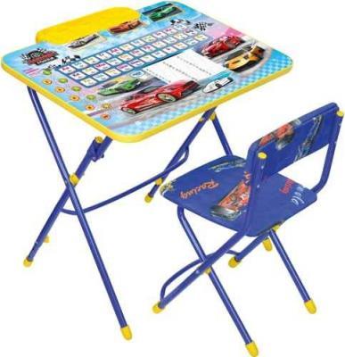Купить Комплект стол+стул Ника Умничка 3 Большие гонки, НИКА, Игровые комплекты мебели