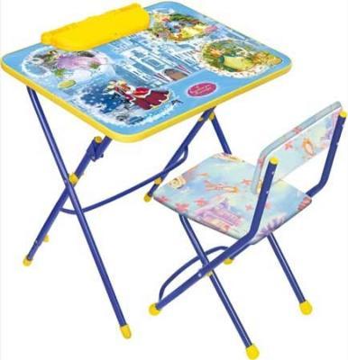 Комплект стол+стул Ника Умничка 3 Волшебный мир принцесс цена