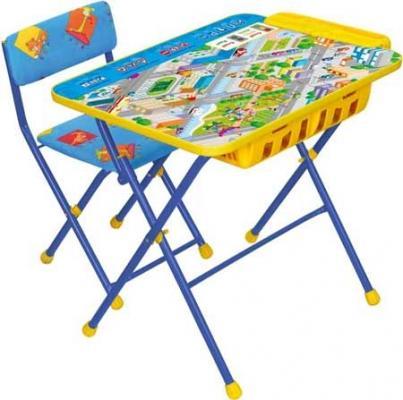 Купить Комплект стол+стул Ника Умничка 2П Правила дорожного движения, НИКА, Игровые комплекты мебели
