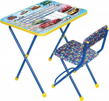 Комплект стол+стул Ника Умничка 2П Большие гонки цена