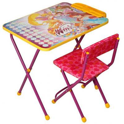 Купить Комплект стол+стул Ника Winx 3 Азбука, НИКА, Игровые комплекты мебели