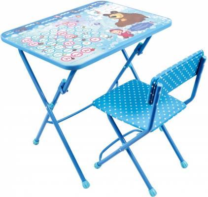 Комплект стол+стул Ника Умничка 1 Азбука 4 Маша и Медведь ника 1041 0 1 61 ника